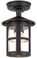 Elstead Hereford Flush Traditional English Outdoor Porch Lantern