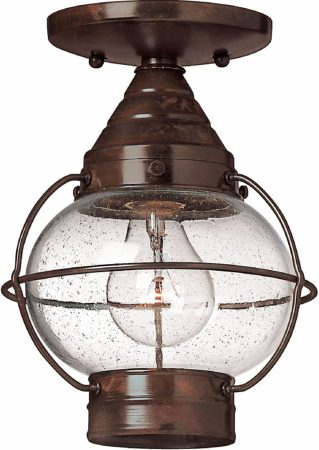 Cape Cod Small Dual Mount Porch Lantern Bronzed Solid Brass