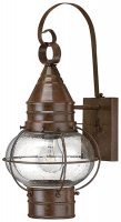 Cape Cod Large Bronze Finish Brass Outdoor Wall Lantern
