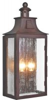 Elstead Kendal Large Old Bronze 2 Lamp Period Outdoor Wall Lantern
