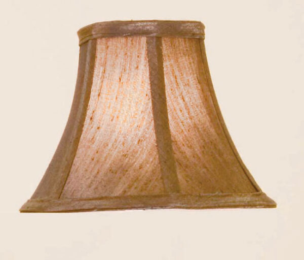 Coniston Brown Clip On Lamp Shade