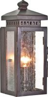 Matlock Wrought Iron Period Outdoor Wall Light