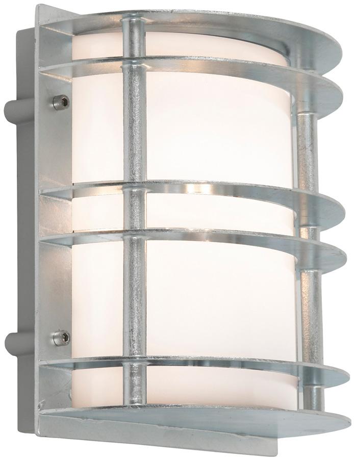 Stockholm art deco flush opal outdoor wall lantern for Art deco exterior light fixtures