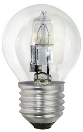 Bell 10 Pack Energy Saving 18w ES Clear Golf Ball Lamps