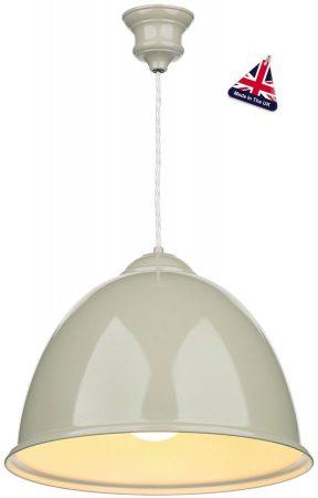 David Hunt Euston Dark Cream Kitchen Pendant Light