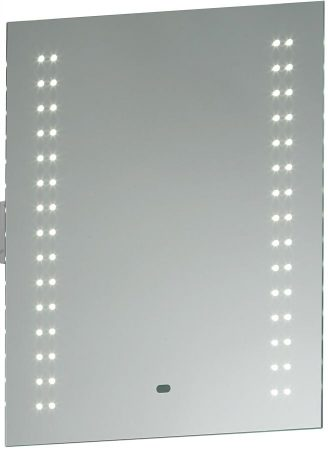 Perle Shaver Socket LED Bathroom Mirror Light With Sensor