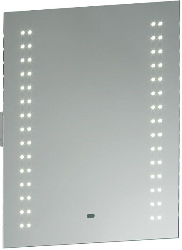 Perle Shaver Socket LED Bathroom Mirror Light With Sensor
