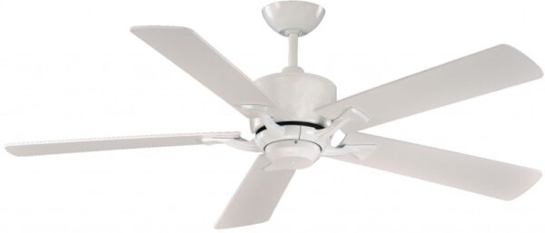 Delta 52 Inch Remote Fantasia Ceiling Fan Gloss White