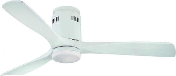 Fantasia Zeta Remote Control 52″ Ceiling Fan Light Matt White
