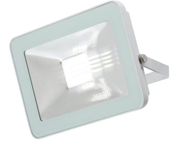 Ultra-Slim 20w LED Outdoor Security Floodlight White IP65 2240 Lumen