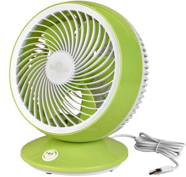 Fantasia USB Powered 2 Speed Desktop Fan Green & White