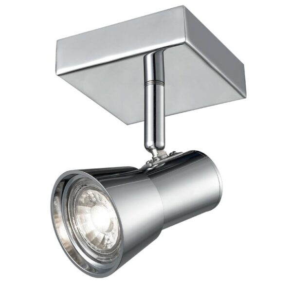 Franklite Aime Single Spot Light Without Switch Polished Chrome