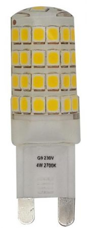 Clear G9 Non Dimmable LED Bulb 4w 370 Lumens Neutral White 4000k