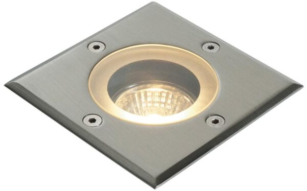 Pillar Square Stainless Steel IP65 Outdoor Walkover Light