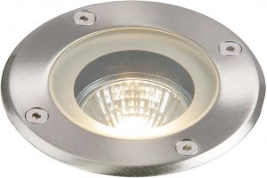 Pillar Round Stainless Steel IP65 Outdoor Walkover Light