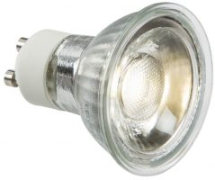 Daylight 5W GU10 COB LED Lamp 410 Lumens