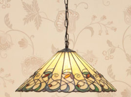 Jamelia Tiffany Pendant Light Medium Art Nouveau