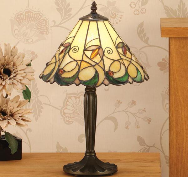 Jamelia Tiffany Table Lamp Medium Art Nouveau