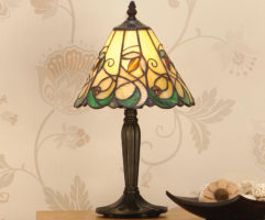 Jamelia Tiffany Table Lamp Small Art Nouveau