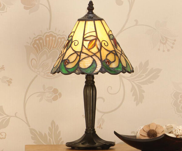 Jamelia Tiffany Table Lamp Small Art Nouveau