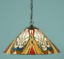Hector Medium Art Nouveau Tiffany Pendant Light