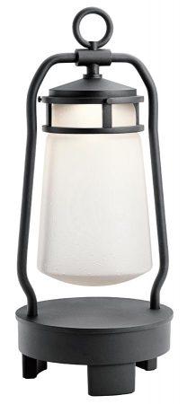 Kichler Lyndon Rechargeable LED Lantern Bluetooth Speaker IP23