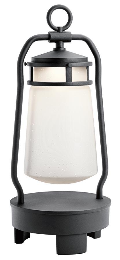 Kichler Lyndon LED patio lantern bluetooth speaker IP23