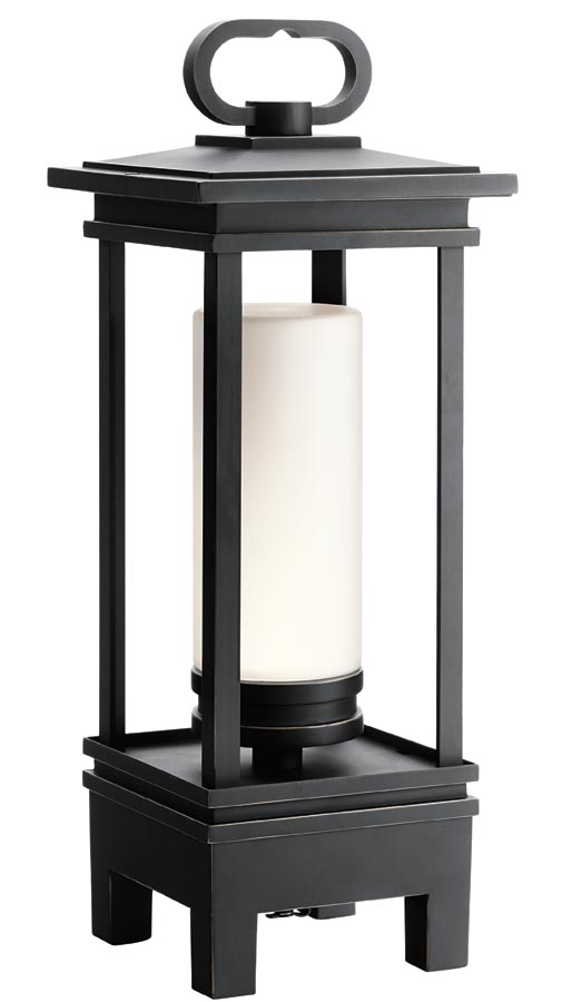 Kichler South Hope LED patio lantern bluetooth speaker IP23