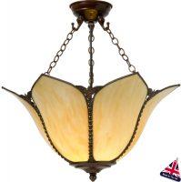 Topkapi Art Nouveau Style Ceiling Light UK Handmade