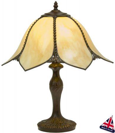 Topkapi Art Nouveau Style Table Lamp UK Handmade