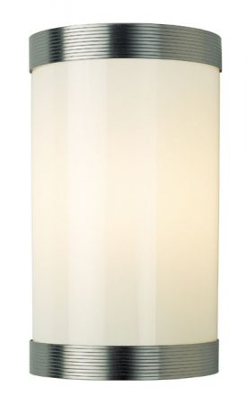 Opal Glass IP44 Bathroom Wall Light UK Handmade
