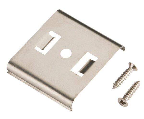 Ultra Slim Flat LED Striplight Mounting Clip