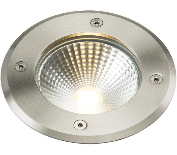 316 Stainless Steel 6W LED 128mm Recessed Ground Light IP65