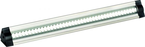 Triangular Profile 11w Cool White LED 1000mm Under Cabinet Light
