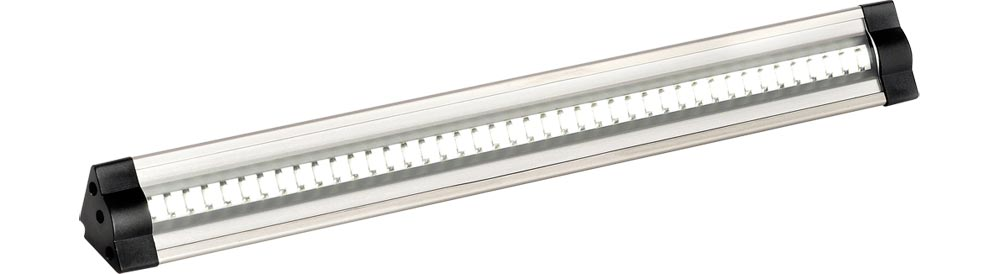 Triangular profile 3w cool white LED 300mm under cabinet light