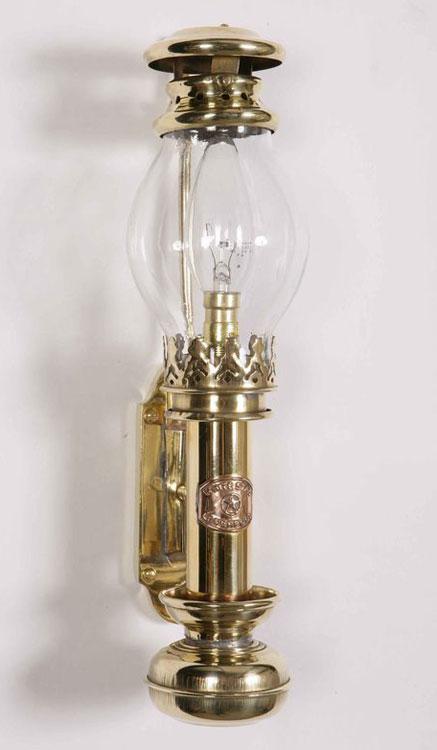 Handmade Brass Wall Lights : Handmade Solid Brass Replica Berth Lamp 402