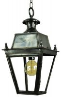 Balmoral Solid Brass Victorian Hanging Outdoor Porch Lantern