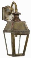 Kensington Victorian Outdoor Wall Lantern Solid Brass