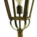 Kensington Victorian Outdoor Pillar Lantern Solid Brass