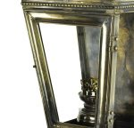 Kensington Solid Brass Victorian Outdoor Wall Passage Lamp