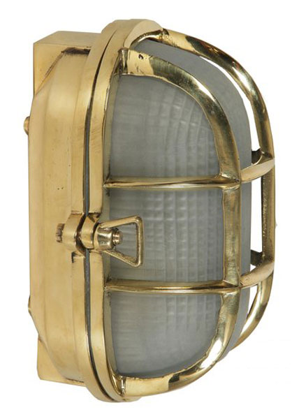 Oval polished cast brass outdoor ships bulkhead wall light 445 oval polished cast brass outdoor ships bulkhead wall light aloadofball Images