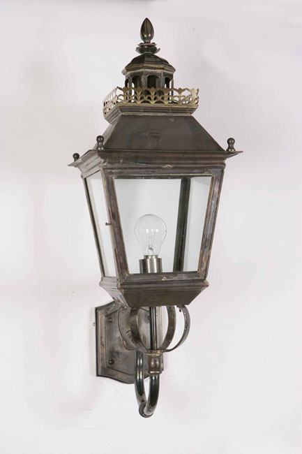 Period Outside Wall Lights : Chateau Replica Victorian Period Outdoor Wall Light Solid Brass 502