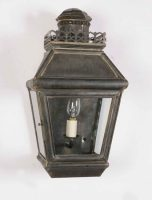 Chateau Period Victorian Outdoor Passage Lamp Solid Brass