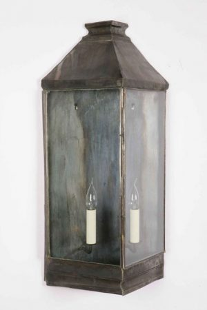 Large Greenwich Period Outdoor Wall Lantern Solid Brass