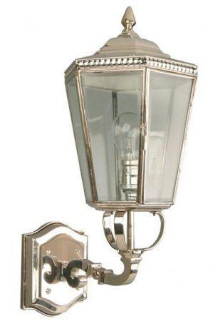 Chelsea Georgian Period Outdoor Upward Wall Lantern Nickel