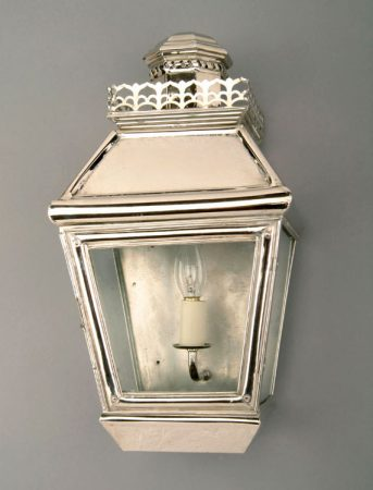 Chateau Polished Nickel Solid Brass Victorian Passage Lamp