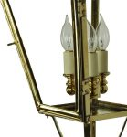 Balmoral Large Solid Brass 3 Light Victorian Exterior Wall Light