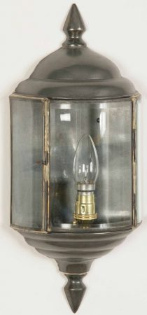 Wentworth Solid Brass Period Outdoor Flush Wall Lantern