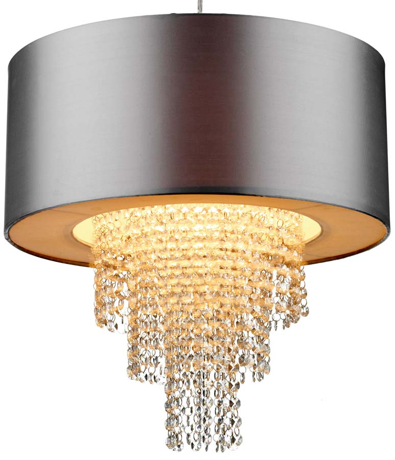 Dar lopez silver ceiling pendant lamp shade with drops lop6532 dar lopez silver ceiling pendant lamp shade with drops aloadofball Image collections