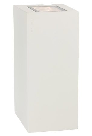 Norlys Lillehammer 6w LED Up & Down Outdoor Wall Light White IP54